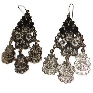 Earrings Bohemian Hippie Festival Elegant Dangly